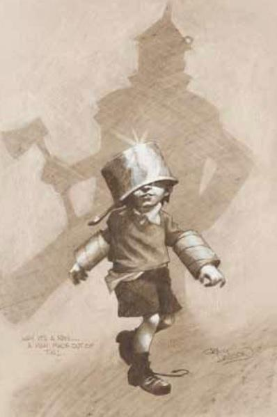 Why it's a Man... A Man Made out of Tin by Craig Davison