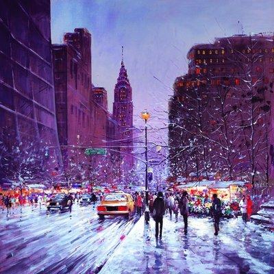 Winter Evening New York
