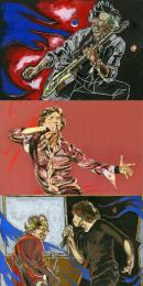 A Glimmer Suite- Set of 3 Prints by Ronnie Wood