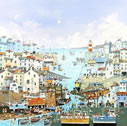 A Sunny Sunday Harbour by Nick Potter