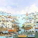 A Sunny Sunday Harbour by Nick Potter