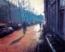 Rolf Harris - Amsterdam Morning - Canvas