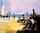 Beach Life by David Farrant