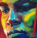 Beautiful Dreamer VIII (signed by Muhammad Ali) a limited edition print by Simon Bull