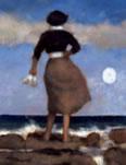 Blue Skies II - On Canvas by Chris Bennett