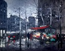 Boulevard Saint Germain a limited edition print by Henderson Cisz