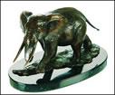 Bull Elephant - Bronze by Mick Simpson