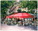 Cafe Du Coin a limited edition print by Paul Kenton