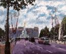Celebrating on the Mall by Timmy Mallett
