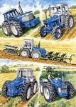 County Tractors by Steven Binks