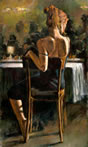 Cynzia at Las Brujas II a limited edition print by Fabian Perez
