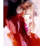 Dawn (canvas) by Christine Comyn