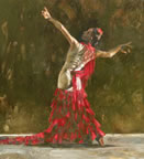 El Baile De Pasion (Dance Of Passion)(canvas) by Fletcher Sibthorp