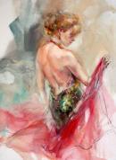 Elegant Muse I by Anna Razumovskaya