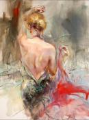 Elegant Muse II by Anna Razumovskaya