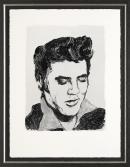 Elvis by Ronnie Wood