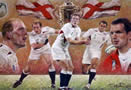 England - Rugby World Cup Winners 2003 by Stephen Doig