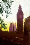 Rolf Harris - Fading Light Parliament - Canvas