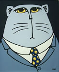 Fat Cat by Bruce Mckay