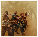 Craig Davison - Guns of the Magnificent Seven - Box Canvas
