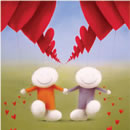 Happy In Love a limited edition print by Doug Hyde