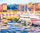 Harbour Honfleur by John Holt