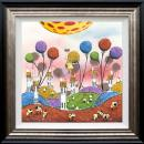 Hot Hare Balloon - High Gloss Resin with 3D Elements by Dale Bowen