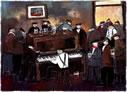 Line'em Up Boys by Malcolm Teasdale