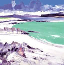 Monks Strand - Iona by John Lowrie Morrison