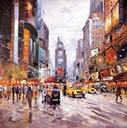Morning in Times Square a limited edition print by Henderson Cisz