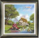 Mr Toad's Disastrous Day Out - High Gloss Resin With 3D Elements by Dale Bowen