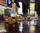 New York City Motion - Canvas by Neil Dawson