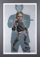 No Time to Die - Deluxe Canvas by Craig Davison