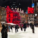 Old Town Square I by Susan Brown