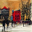 Old Town Square II by Susan Brown