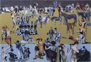 On The Beach by Peter Blake