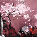 Painted Dreams ii by Danielle O'Connor Akiyama
