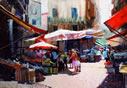 Rolf Harris - Palermo Market - Canvas
