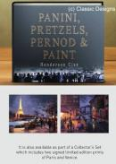 Panini, Pretzels, Pernod and Paint Limited Edition by Henderson Cisz