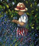Picking Blueberries by Sherree Valentine Daines