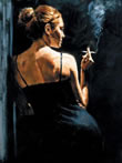 Fabian Perez - Sensual Touch In The Dark (Board)