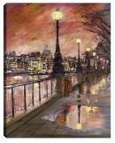South Bank a limited edition print by Paul Kenton