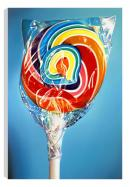 Still Life - Rainbow Swirl (Canvas) by Sarah Graham
