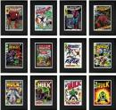 Stan Lee  Marvel Comics - Super Heroes - Boxed Set Of Three Portfolios (Avengers, Hulk, Spiderman)
