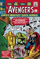 Stan Lee  Marvel Comics - The Avengers #1 - Earths Mightiest Super Heroes
