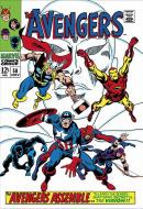 Stan Lee  Marvel Comics - The Avengers #58 -  The Avengers Assemble