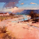 The Golden Light Of A Tranquil Dawn Steals In From The Awakening East by Peter Wileman