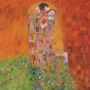 Rolf Harris - The Kiss (Canvas)
