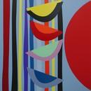 Vertical Rhythms II by Terry Frost