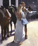 White Dress by David Farrant